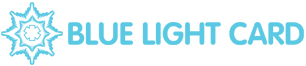 blue light card logo